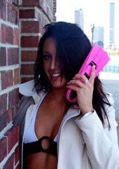 FIN Phone© swim FLIPPER Phone© cell phone holster designed exclusively with FUN in mind!
