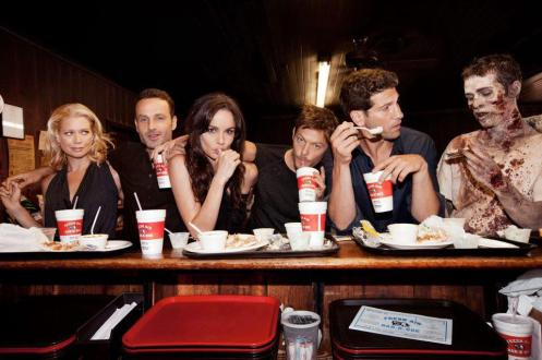 Before their characters are killed off, principal actors receive a 'last supper' on the day they film their death scenes, where they are also given mementos from the show.