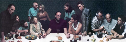 Sopranos Last Supper