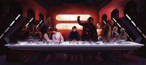Star Wars LastSupper