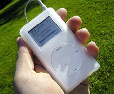 The iPod had been bought by Sophie's grandmother only a few days before the lightning strike