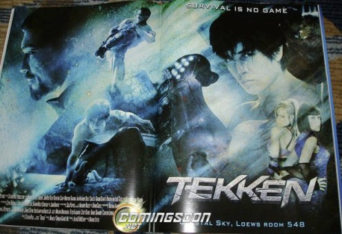 movie adaptation of action videogame Tekken