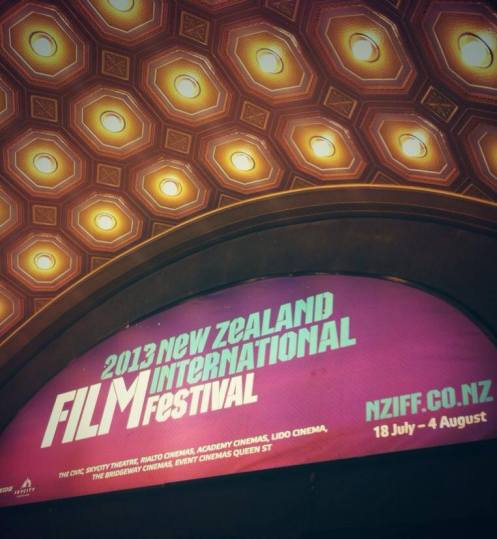 The first screening of the New Zealand International Film Festival is about to begin at The Civic! Have a great couple of weeks film lovers.