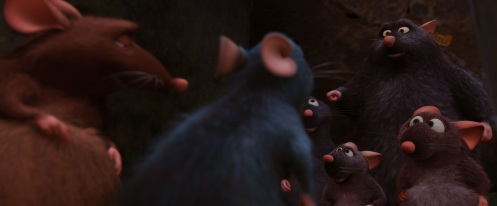 ÒA113Ó moment in RATATOUILLE. ©Disney/Pixar.  All Rights Reserved.