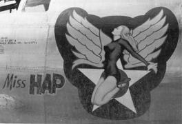 Boeing B-29 Superfortress - miss Hap