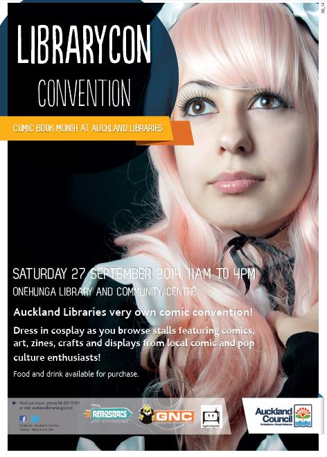 Auckland LibraryCon 2014