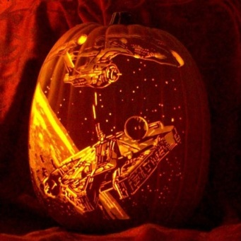 star-trek-vs-star-wars-jack-o-lantern