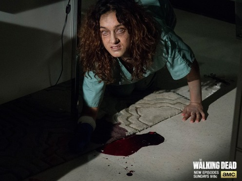 Keisha Castle-Hughes Featured in THE WALKING DEAD