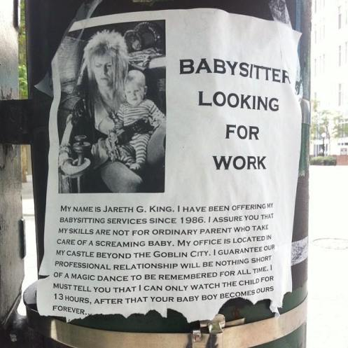 The Best Babysitting Ad Ever