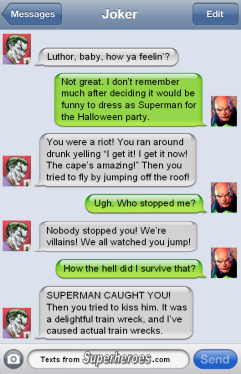 The Joker and Lex