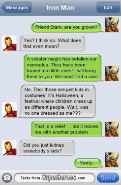 Thor Doesn't Understand Halloween