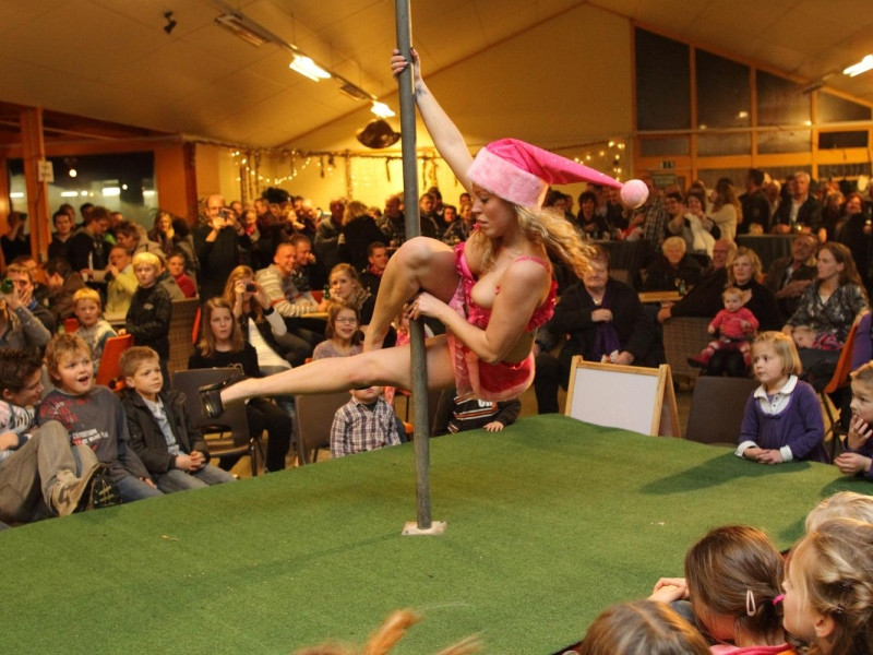 Dutch Children Get Their Annual Mrs. Claus Striptease Pole Dance ...