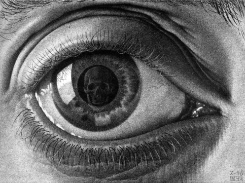 Eye 1946 by M.C. Escher