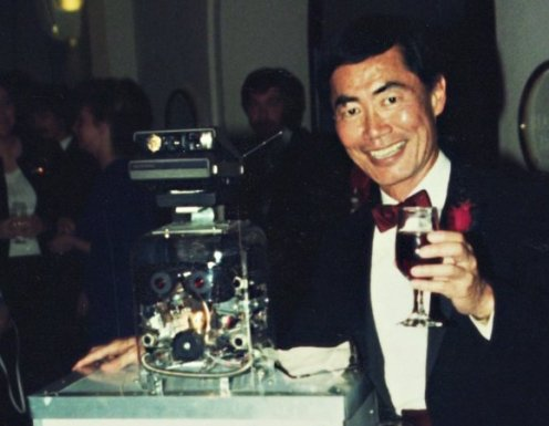 GeorgeTakei with Partyrobot