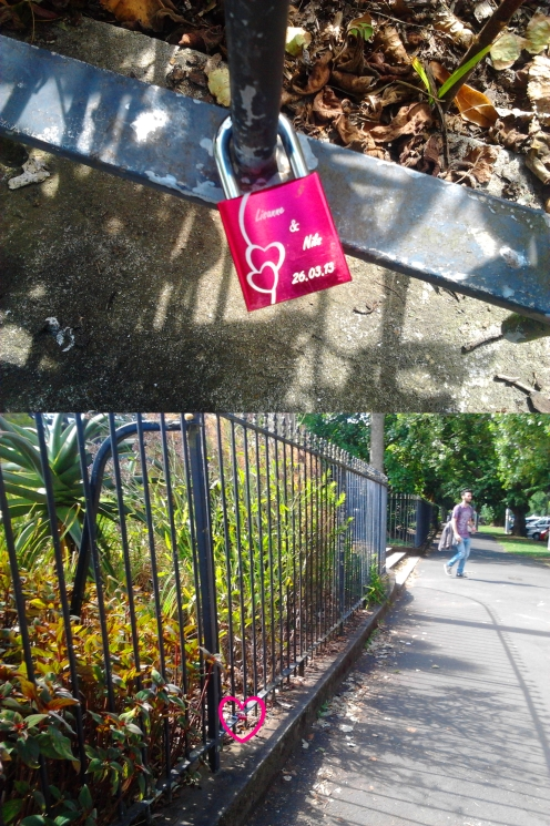 Sweethearts love lock @ Albert Park 2015-02-11 16.13.38