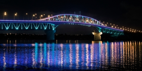 Bridge lighting up for birthday buzz
