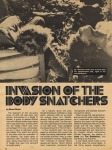 Invasion Of The Body Snatchers (1978) –1