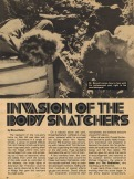 Invasion Of The Body Snatchers (1978) - 1