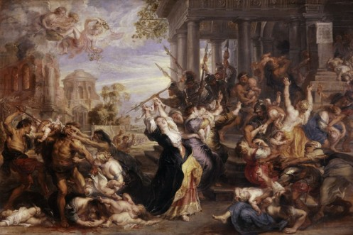 Peter Paul Rubens' 'Massacre of the Innocents' - created 1611-1612