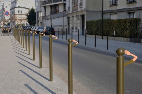 """Army Street"" by Sandrine Estrade Boulet. Photo from Sandrine Estrade Boulet's website."