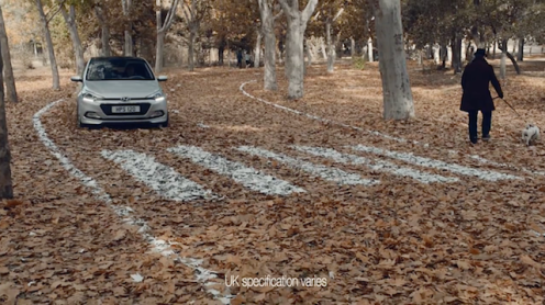 Screenshot from the Hyundai ad 4