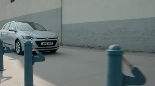 Screenshot from the Hyundai ad3