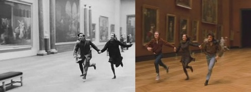 'Band of Outsiders' (1964, Godard) and 'The Dreamers' (2003)